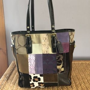 fc1565b665 Coach Bags - Coach Patchwork Tote 📍New Condition 📍